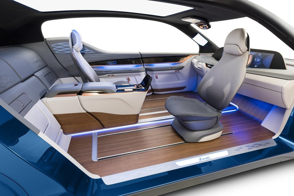 Meso Yanfeng Kinetic Seat And Media Elements For Autonomous Car